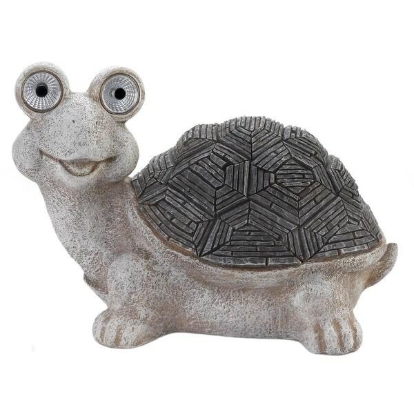 Antique Solar Turtle Statue