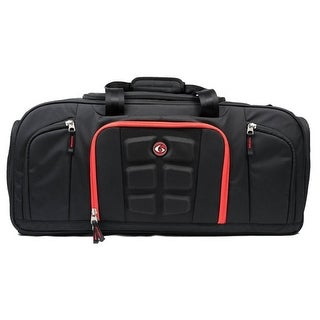 6 Pack Fitness Beast Meal Management Duffel Bag