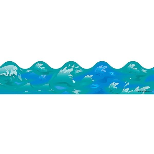 Border Ocean Waves Scalloped