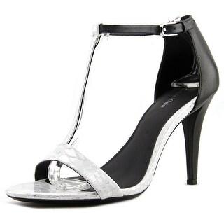Calvin Klein Nasi   Open Toe Leather  Sandals