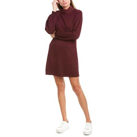 David Lerner Studio Collection Bishop Sleeve Sweaterdress