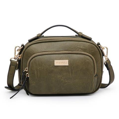 VONMAY Women Small Crossbody Multi Pockets Messenger Bag