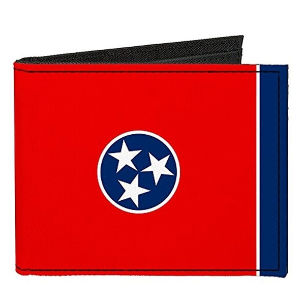 Buckle-Down Canvas Bi-fold Wallet - Tennessee Flag Accessory
