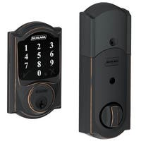 Schlage BE468-CAM Connect Camelot Touchscreen Deadbolt with Z-Wave Technology