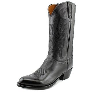 Lucchese Lonestar 2E Pointed Toe Leather Western Boot