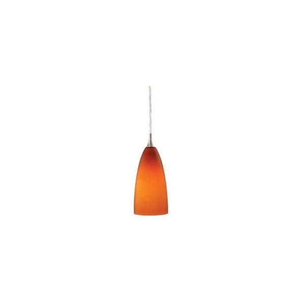 Vaxcel Lighting PD30142 Milano 1-Light Mini / Monorail Pendant - satin nickel - n/a