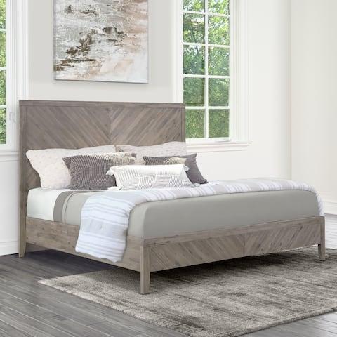 Abbyson Felix Chevron Bed