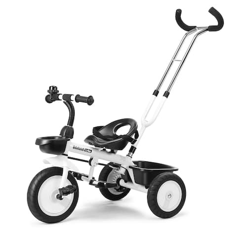 3 in 1 Children Baby Tricycle Toddler Outdoor Ride Trike - M