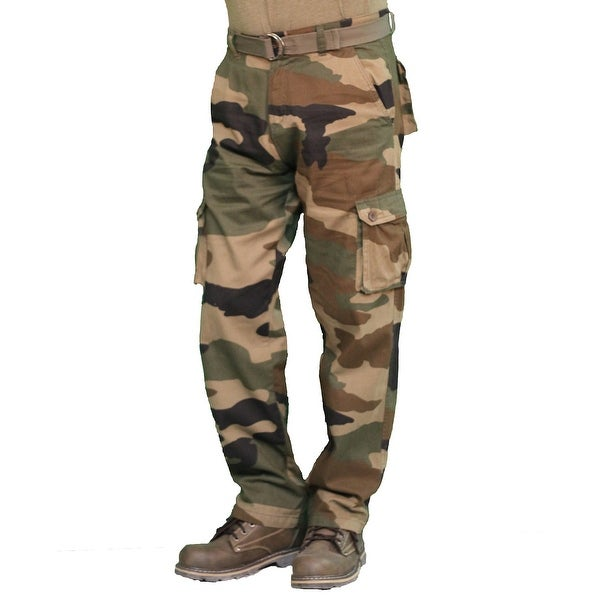 Shop Outback Rider Men s Camouflage Twill Cargo Pant - Free Shipping On  Orders Over  45 - Overstock - 14293195 0dccf8dbe3d