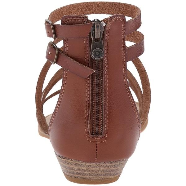 baa021529d92 Shop Blowfish Womens Bungalow Leather Split Toe Casual Platform ...