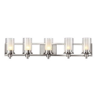 Trans Globe Lighting 20045 5 Light Bathroom Fixture from the Modern Meets Traditional Collection