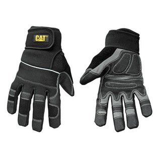 CAT CAT012217L Men'S Padded Palm Utility Gloves, Large