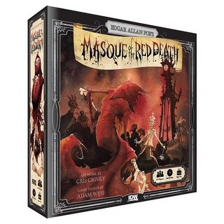 IDW Publishing IDW01379 Masque of the Red Death Game