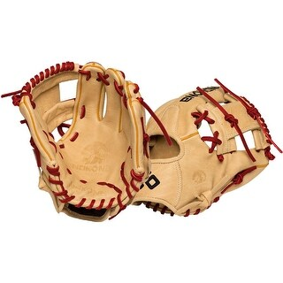 Nokona Alpha Select Left Handed Thrower 10.5-inch I Web Leather Baseball Glove S-100/R