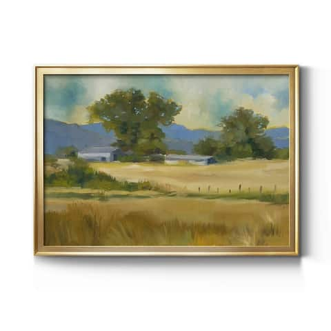 Down On The Farm- Premium Gallery Wrapped Canvas - Ready to Hang