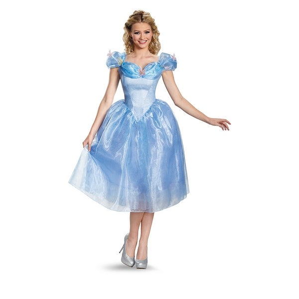 Disney Princess Cinderella Costume, Cinderella Movie Adult Deluxe