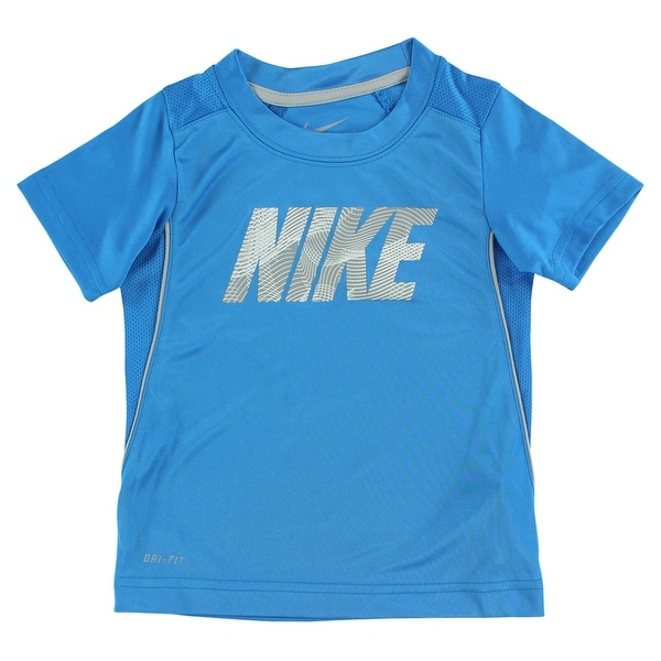 Shop Nike Baby Boys Legacy Short Sleeve Shirt Blue - Blue Grey - 3t - Free  Shipping On Orders Over  45 - - 22614393 24fd00a29