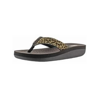 Volatile Womens Naila Flip-Flops Open Toe Casual