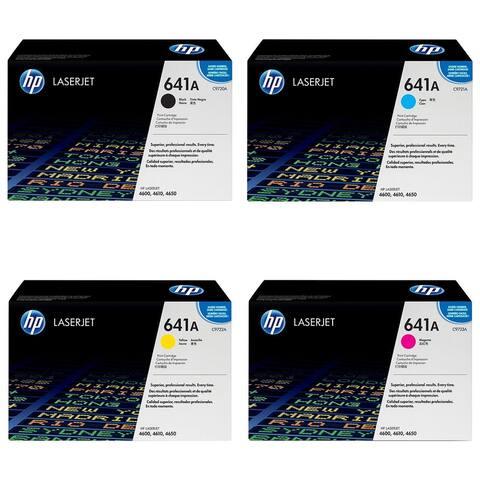 HP LaserJet 4600 4650 C9720A, C9721A, C9722A, C9723A, 641A TONER SET
