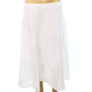 Alfani NEW White Bright Women's Size XL A-Line Eyelet Flare Skirt|https://ak1.ostkcdn.com/images/products/is/images/direct/4e1e9fdf23e5cf5b18be91b3875523cf6c63afa2/Alfani-NEW-White-Bright-Women%27s-Size-XL-A-Line-Eyelet-Flare-Skirt.jpg?impolicy=medium