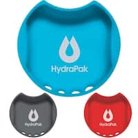 HydraPak WaterGate Wide-Mouth BPA-Free Silicone Splash Guard - Golden Gate Red - One Size