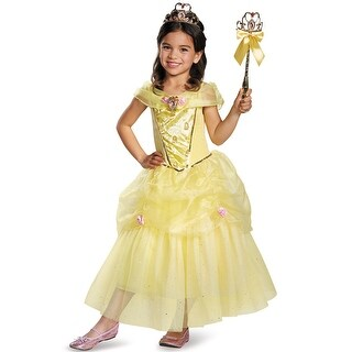Disguise Belle Deluxe Child Costume - YELLOW