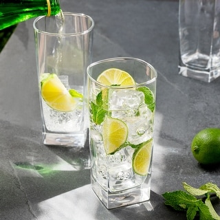 Link to Luminarc 16 Ounce Sterling Cooler Glass, Set of 4 Similar Items in Glasses & Barware
