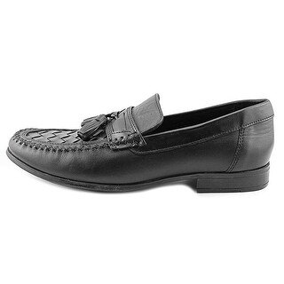 Bass Mens Hogan Leather Closed Toe Penny Loafer