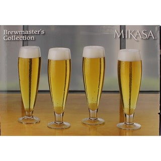 Mikasa Beer Glass Glass Set Of 4