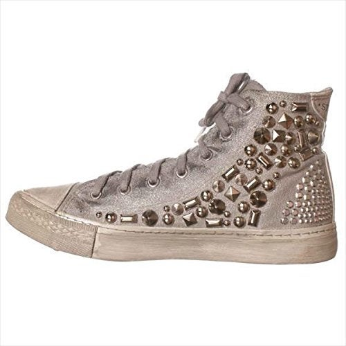 Studswar Womens cleo Hight Top Lace Up Fashion Sneakers