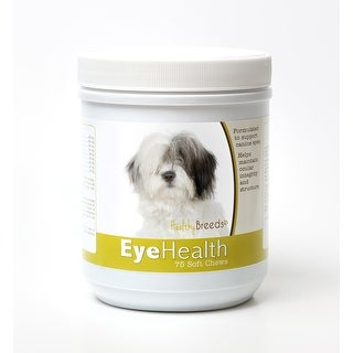 Healthy Breeds Old English Sheepdog Dog Eye Care Support Soft Chews 75 Count