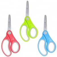 Westcott Soft Handle 5In Classpack Kids Scissors Blunt