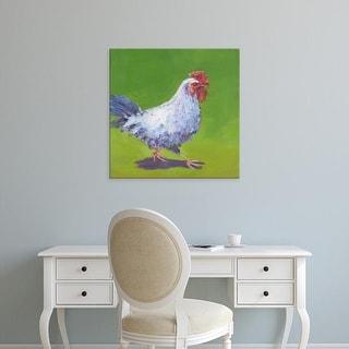 Easy Art Prints Carol Young's 'Pasture Henrietta I' Premium Canvas Art