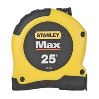 "Stanley 33-279 Maxsteel Tape Measure, 25' x 1-1/8"""