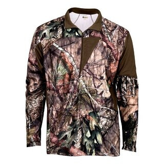 Rocky Outdoor Shirt Mens Quality Silenthunter L/S 1/4 Zip