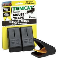 Tomcat Reusable Mouse Traps