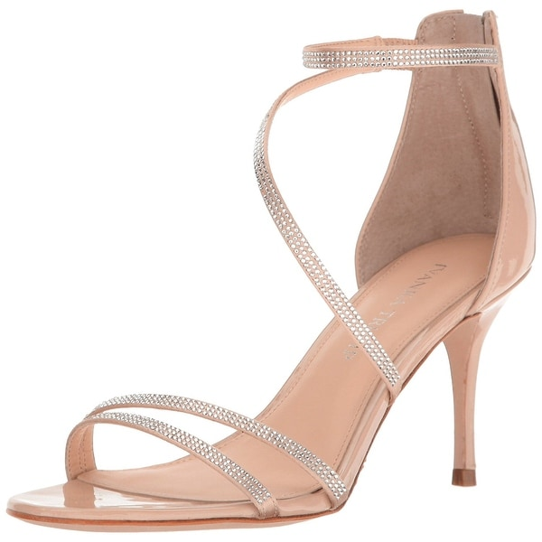 Ivanka Trump Womens Genese2 Leather Open Toe Special Occasion Strappy Sandals