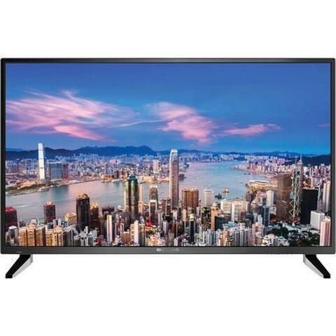 BOLVA 40 in. 4K LED TV Bundle w/ HDMI Cable - Black