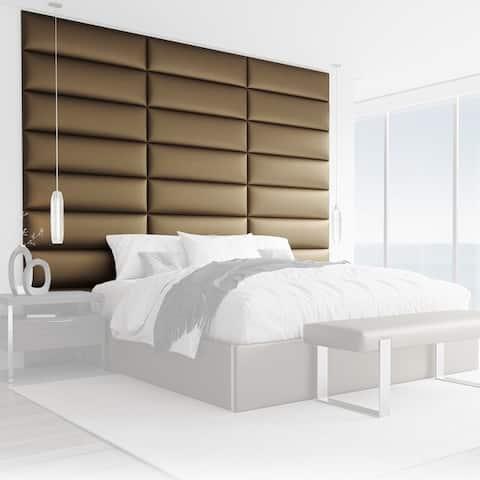 Vant Upholstered Headboards - Gold - 39 Inch - Set of 4 panels