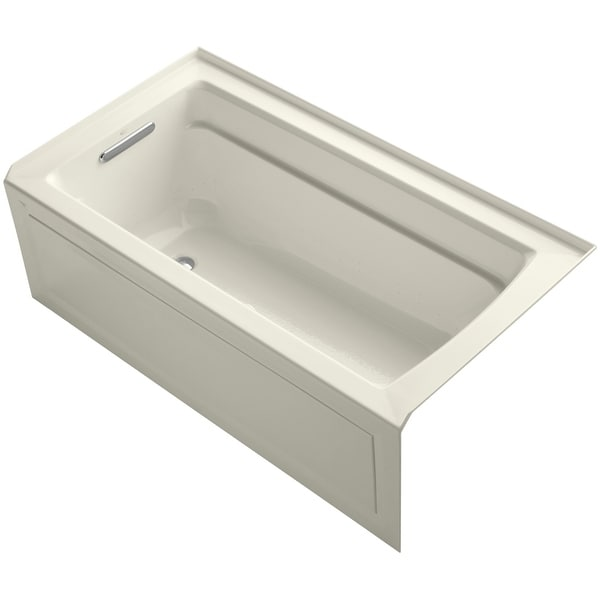 Shop Kohler K 1122 Glaw Archer 60 Quot Three Wall Alcove