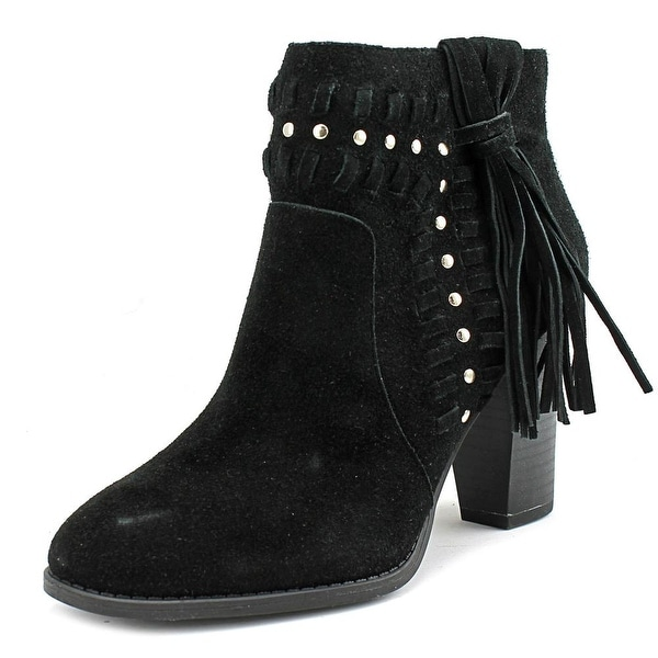 INC International Concepts Jade Women Round Toe Leather Heels