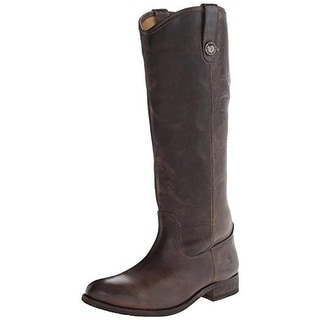 Frye Womens Melissa Leather Knee-High Riding Boots
