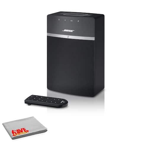 Bose SoundTouch 10 Wireless Music System (Black) Standard Bundle