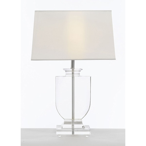 Shop crystal urn table lamp with white shade modern glass crystal urn table lamp with white shade modern glass contemporary lamp aloadofball Gallery