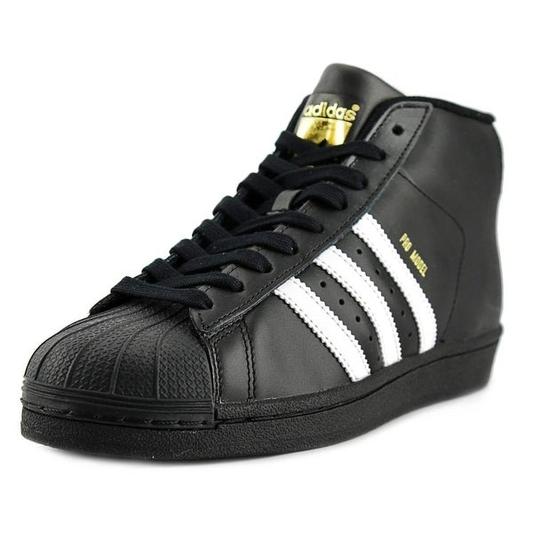 Adidas Pro Model Men Round Toe Leather Sneakers