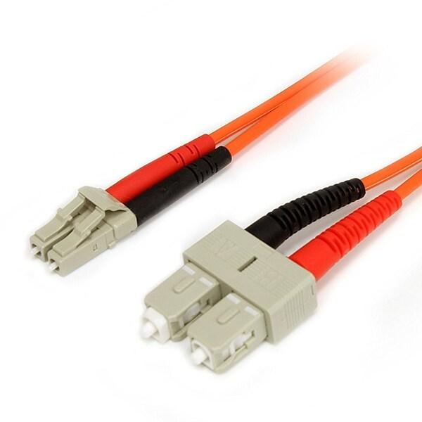 Startech - Fiblcsc5 5M Multimode 62.5/125 Duplexnfiber Patch Cable Lc/Sc Lszh