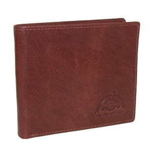 Buxton Men's DOPP Carson Leather RFID Slimfold Wallet