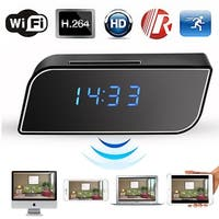 AGPtek Hidden Camera Alarm Clock Motion Security HD 720P Wireless Wifi IP Spy Hidden Camera IR DV Cam