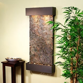 Adagio Whispering Creek Fountain with Antique Bronze Finish - Multiple Colors Available