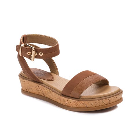 Lucca Lane Karel Women's Sandals Brush Brown